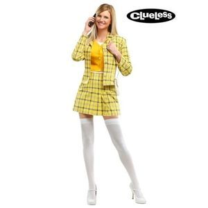 Clueless Cher Yellow Plaid Halloween Costume